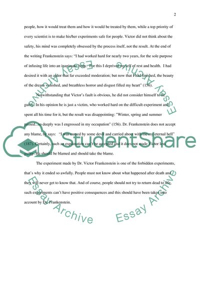 Essay On Newspaper In Hindi Does Victor Blame Or Accept Blame In Frankenstein Novel By Mary Shelley How To Write A Proposal Essay Example also Essays On Health Does Victor Blame Or Accept Blame In Frankenstein Novel By Mary Essay Essay On Good Health
