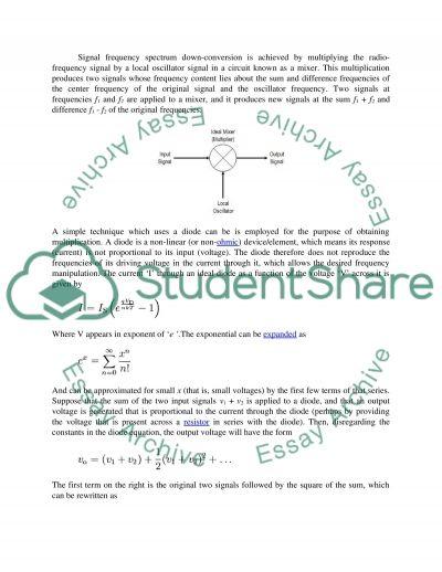 Electronic Communication Technology essay example