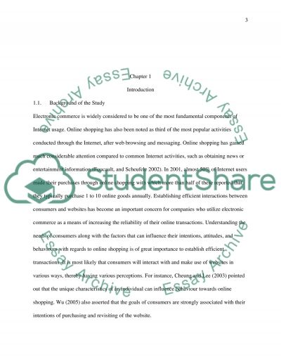 Analysis of the Consumer Behaviour of University Students towards Online Shopping essay example