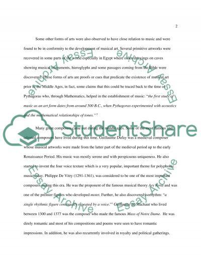 CONCERT REPORT essay example