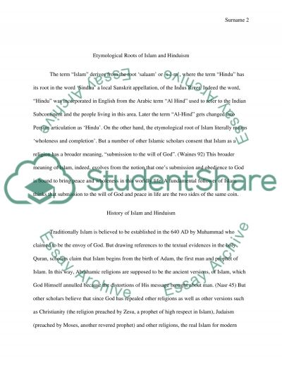 An Overall Analysis of Various Aspects of Islam essay example