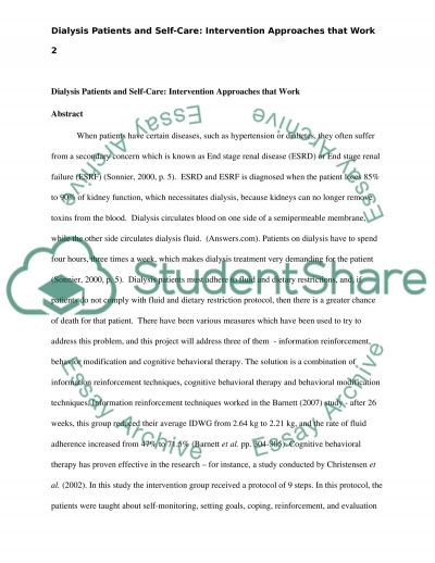 Nursing Research Utilization Project Proposal essay example
