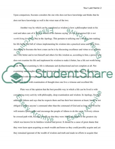 Virtue essay example