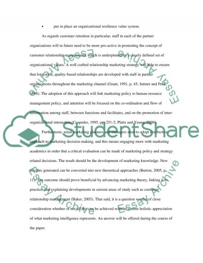 Marketing and International Retailing essay example