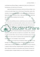 Science and Scientific Change Essay example