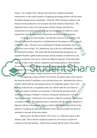 Case Study Assignment Essay example