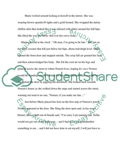 Proofreadoing of Teenage Character Paper