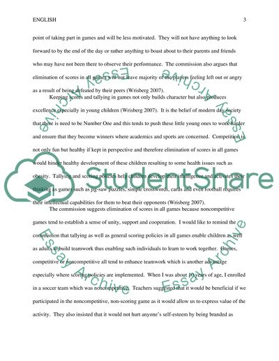 Letter to the Little League Commision