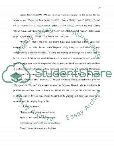 Poetic Forms and Genres essay example