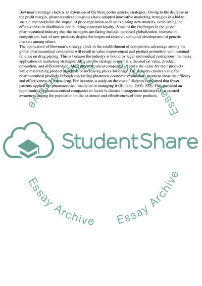 Essay on Business Strategy