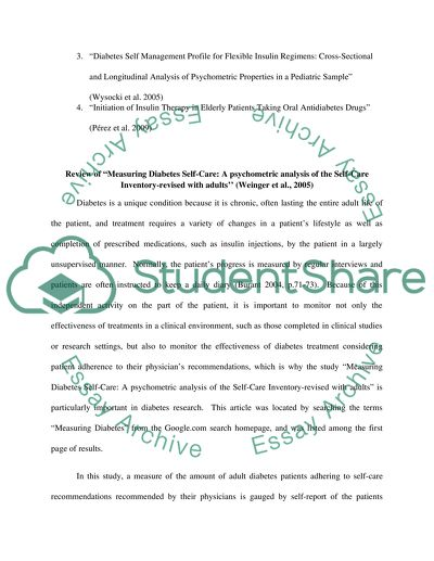 Argumentative Essay Sample High School  Computer Science Essays also Argumentative Essay Examples High School Measuring Health And Diseases Diabetes Essay Example  Sample Essay Thesis Statement