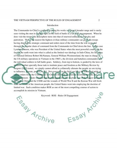 500 word essay on the proper use of chain of command