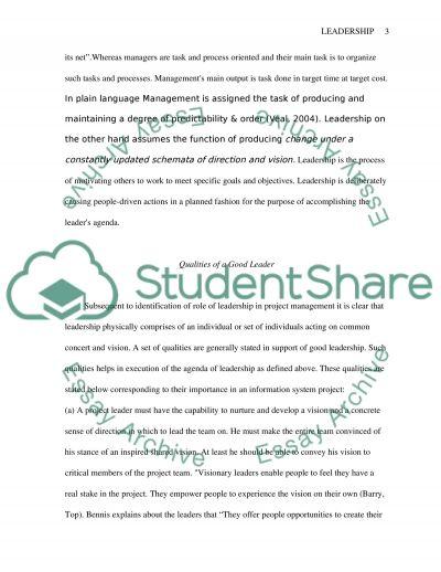 Situational Leadership essay example