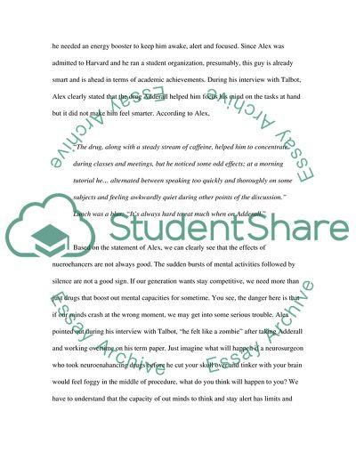 textual analysis paper example