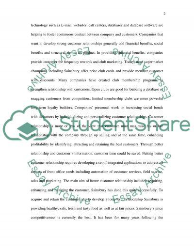 Customer equity essay example