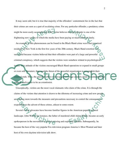 crime essay example