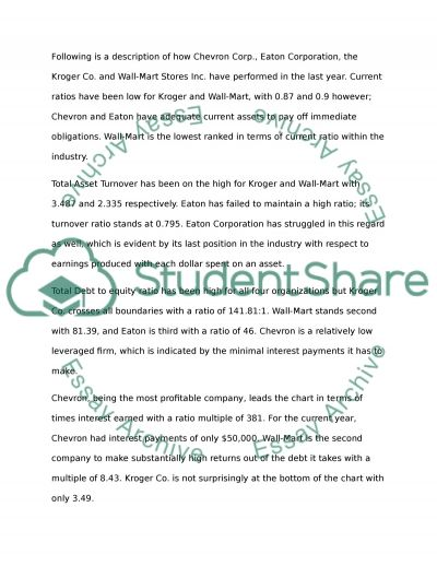 Companies Research Essay example