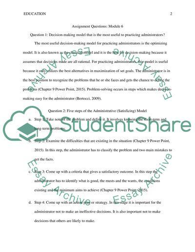 Assignment ( Crappy Professor) Module 6