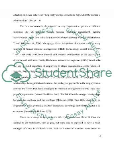Human Resource Management in Secondary Schools