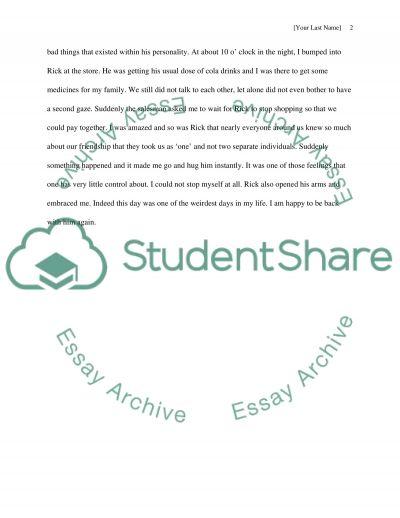 Assigment 3 essay example