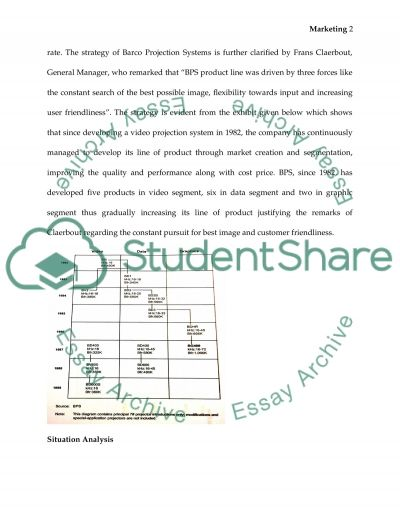 Barco Projection Systems essay example