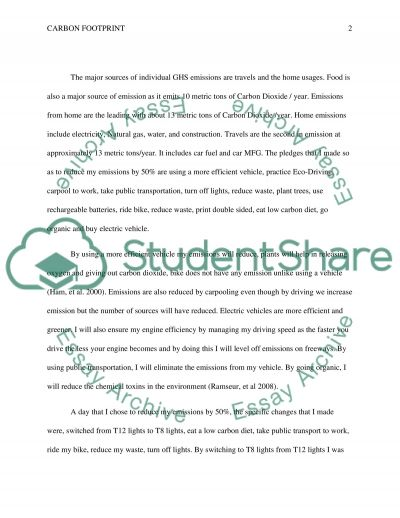 carbon footprint of an egg essay How to reduce carbon footprint information technology essay in today's world, technology is increasingly becoming an essential part of people's life.