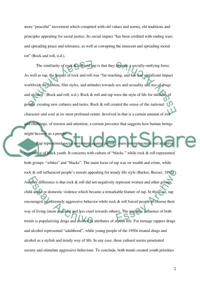rap music vs country music essay Music history essay  southern music known today as country music became popular in the 1920's this was music that was based on folk music of cowboys in the.