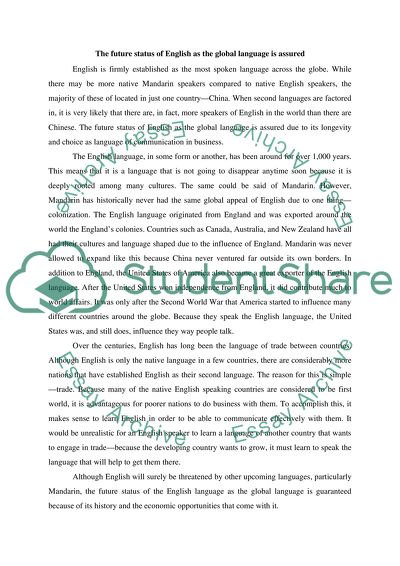 english as a global language essay  importance of english as a  english as a global language essay