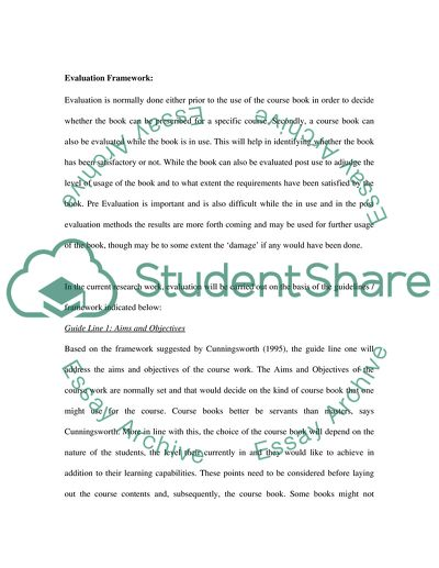 Evaluation of the English File Intermediate