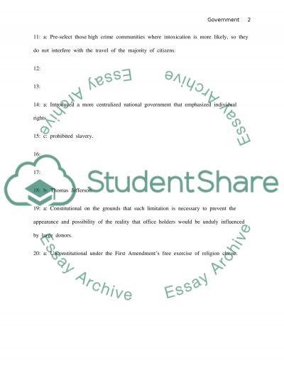 Final Exam Essay essay example