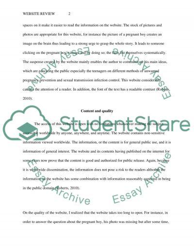 Education essay example