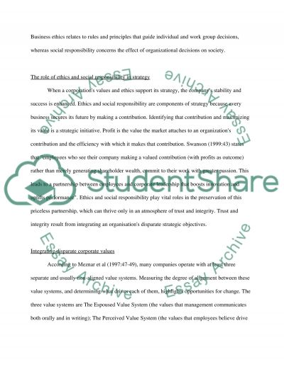 Business Managment Essay example