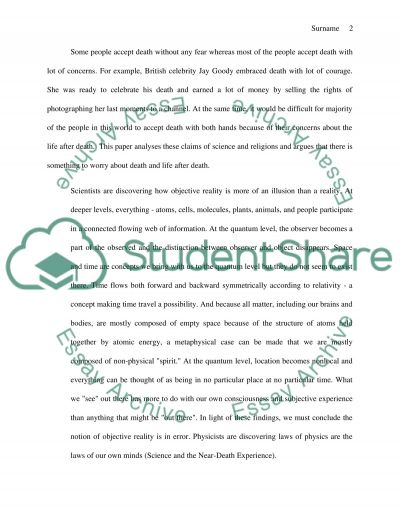 Read the requirement first, and then write the essay essay example