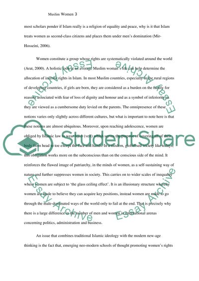 Muslim Women Essay Example  Topics And Well Written Essays   Words Muslim Women Essay On Business Communication also Writing Service Little Rock Prices  Health Essay Writing