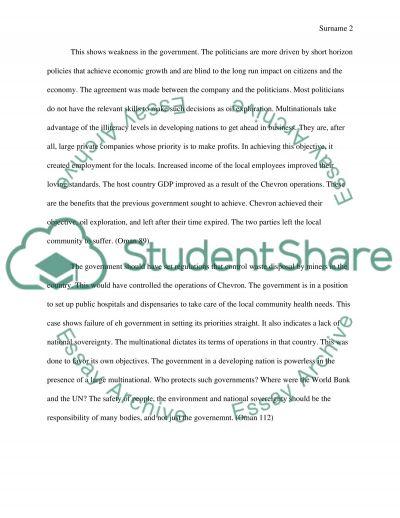 Business Ethic Essay essay example