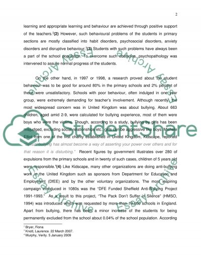 Primary Education essay example