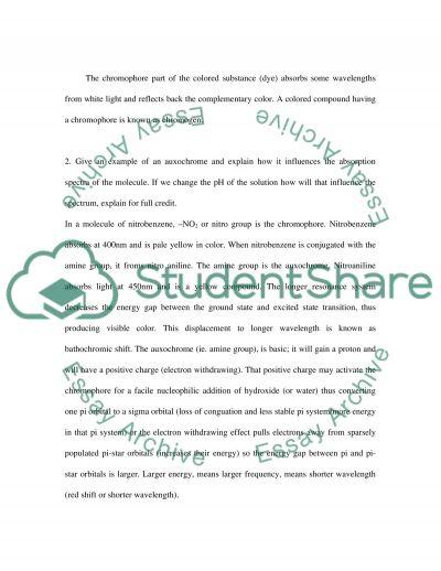 Pharmaceutical Chemistry essay example