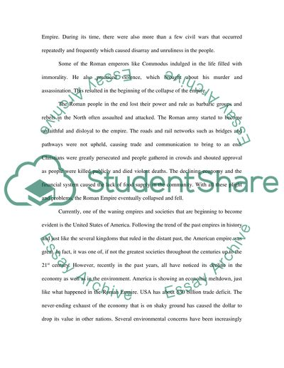 Analytical Essay Thesis Example The Roman Empire Experienced A Period Of Greatness Before It Eventually  Declined And Fell In  Thesis Statement Examples For Narrative Essays also High School English Essay Topics The Roman Empire Experienced A Period Of Greatness Before It Essay Essay On English Subject