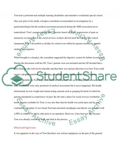 Interprofessional Working on Patients with Learning Disability essay example