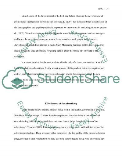 Integrated Marketing Communication (IMC) and Customer Satisfaction strategy essay example