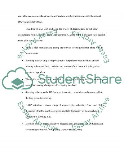 sleep essay example