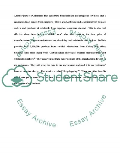 Course project essay example