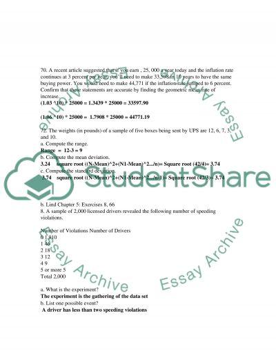 MBA 510 Problem Set I essay example