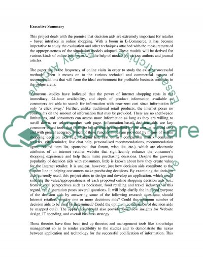 Researching how to conduct a profitable online business essay example