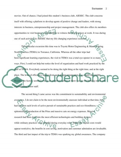 campus life essay