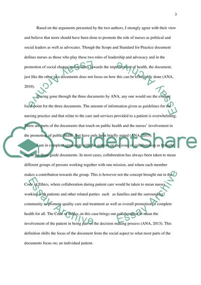 There are two short written assignments for this lesson 2.1