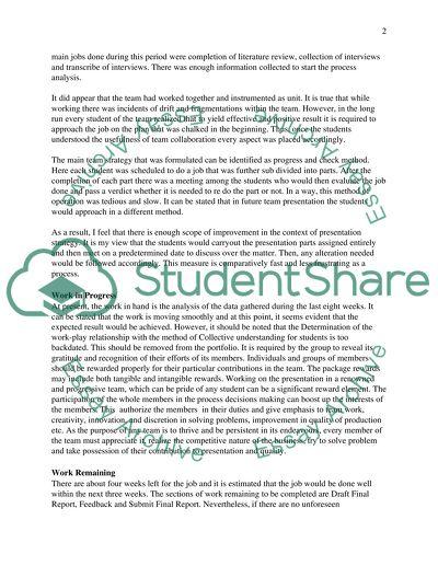 tuckman model essays for general paper