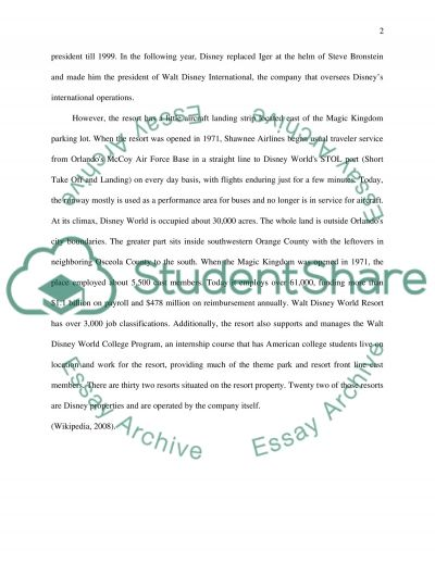 students essay about disneyland Free essay: disneyland the greatest place on the face of the earth is disneyland  nowhere else has the magic that a day at disneyland possesses from my.