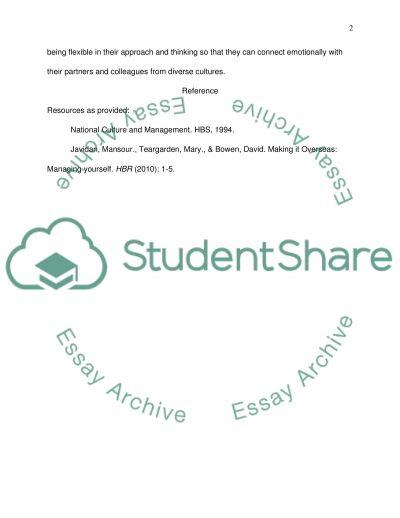 Reading Summary essay example