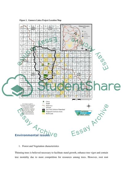 Identify a development or industrial project or a suburban area